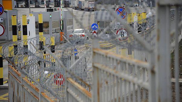 A török-bolgár határ egyik átlépési pontja