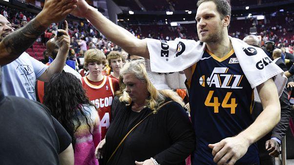 Utah Jazz forward Bojan Bogdanovic