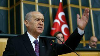 MHP Genel Başkanı Devlet Bahçeli, partisinin TBMM Grup Toplantısına katılarak konuşma yaptı