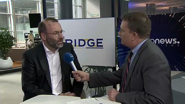 Manfred Weber im Gespräch mit Stefan Grobe