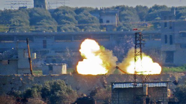 الجيش التركي يسقط طائرة حربية سورية في إدلب
