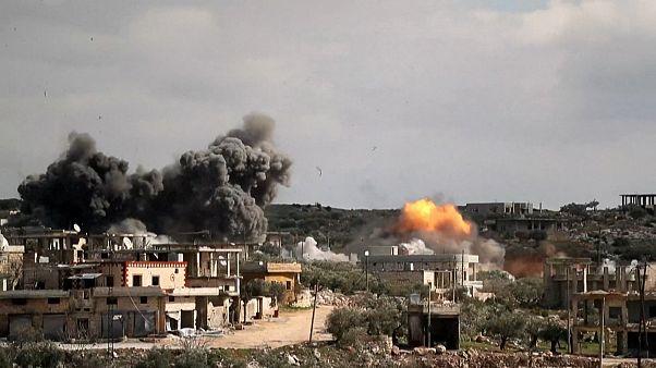 Halálos légicsapás Szíriában