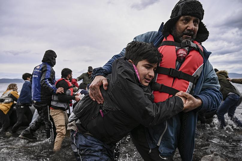 ARIS MESSINIS/AFP