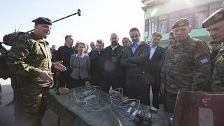 ΕΕ από τις Καστανιές Έβρου: «Μαζί πρέπει να προστατεύουμε τα σύνορά μας»