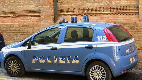 Symbolfoto: italienisches Polizeiauto