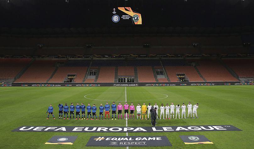 Emilio Andreoli / UEFA via AP