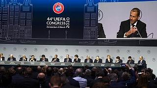 Netherlands Soccer UEFA Congress