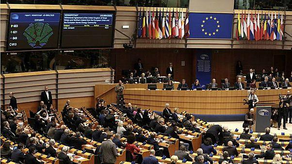 جلسة للبرلمان الأوروبي