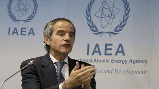 المدير العام للوكالة الدولية للطاقة الذرية رافايل ماريانو غروسي