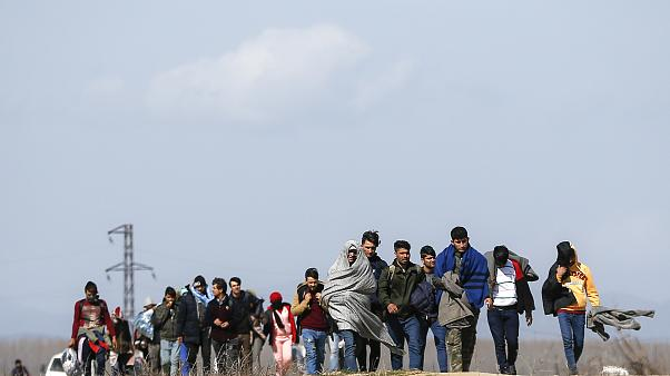 Turkey Greece Migrants