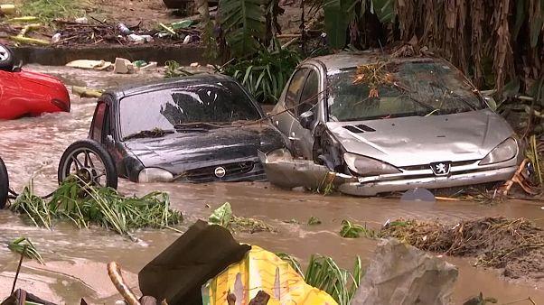 No Comment: Zahlreiche Tote bei schweren Unwettern in Brasilien