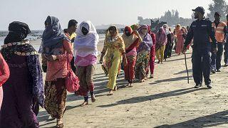 لاجئون من الروهينغا في بنغلاديش