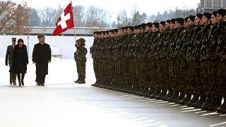 Sváci katonai díszszemle
