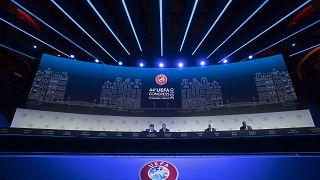 UEFA-Treffen in Amsterdam