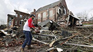 Unwetterschäden in Nashville