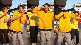 Koronavirüs kamu spotuna TikTok'ta danslı 'meydan okuma' salgını