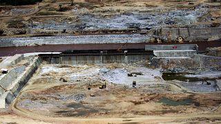 صورة أرشيفية للنيل الأزرق قرب موقع إنشاء سد النهضة الإثيوبي، يونيو 2013