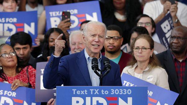 المرشح الديموقراطي جو بايدن