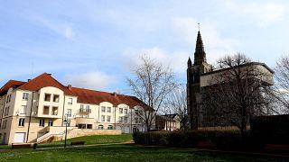 La maison de retraite Etienne-Marie de la Hante, à Crépy-en-Valois dans l'Oise, le 3 mars 2020