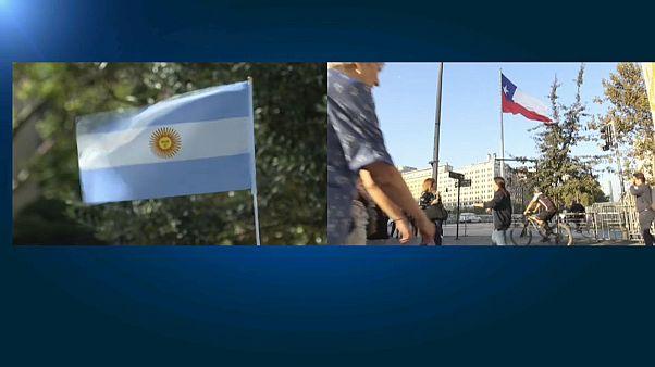 El COVID-19 irrumpe en Chile y Argentina con dos casos importados