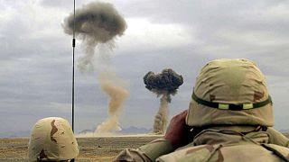حمله هوایی آمریکا به طالبان در افغانستان ۴ روز پس از امضای توافق تاریخی