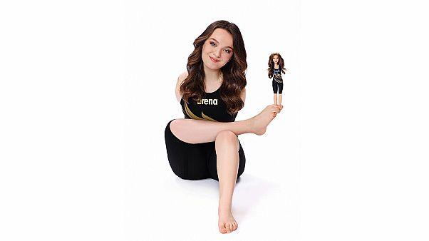 Barbie, rol model olarak Türkiye'den yüzücü Sümeyye Boyacı'yı seçti
