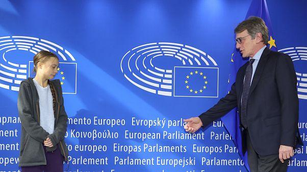 Covid-19: Ziyaretçilere yasak koyan Avrupa Parlamentosu Greta Thunberg'e muafiyet mi sağladı?