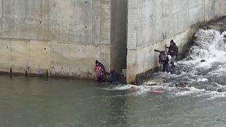 مسیر تازه پناهجویان عازم یونان از رودخانه اوروس میگذرد