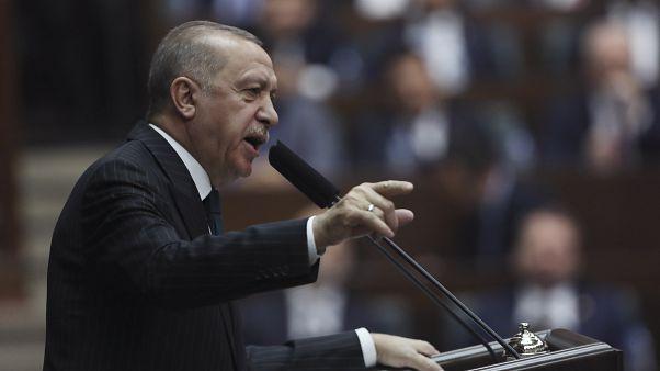 Обращение Реджепа Тайипа Эрдогана к депутатам правящей партии 4 марта 2020