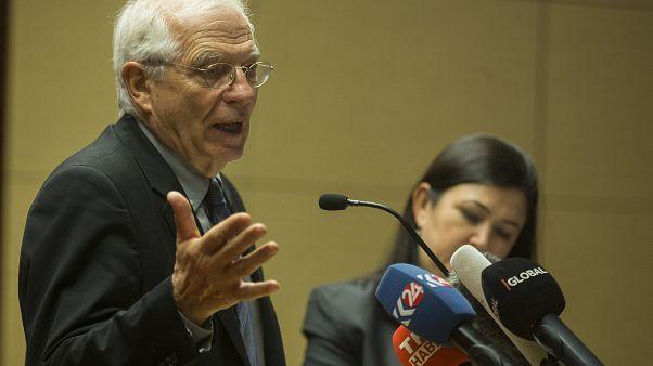 Avrupa Birliği (AB) Dış İlişkiler ve Güvenlik Politikası Yüksek Temsilcisi Josep Borrell
