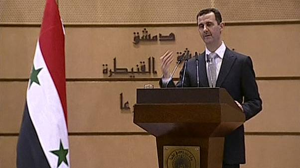 Suriye Devlet Başkanı Beşar Esad, 10 Ocak 2012