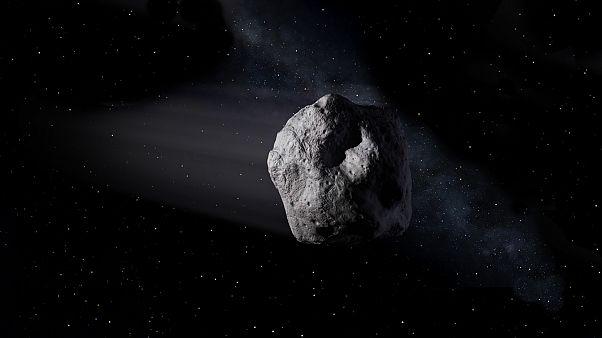 Asteroit ilüstrasyonu