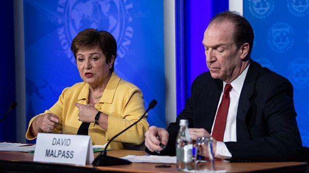 IMF Başkanı Georgieva ve Dünya Bankası Başkanı Malpass