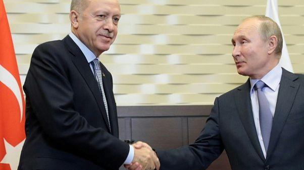 Recep Tayyip Erdoğan ve Vladmir Putin