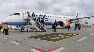 Csődbe menekült a FlyBe brit légitársaság