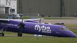 Bruchlandung einer Flybe-Maschine in Belfast 2017.