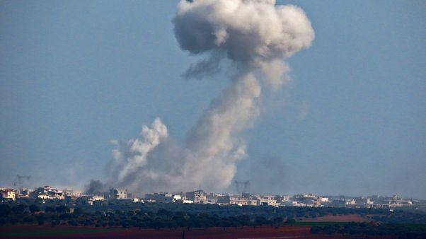 قصف في إدلب