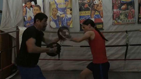 KO al machismo de la 'chica de oro' del boxeo venezolano