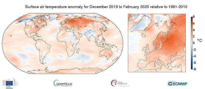 Copernicus Servicio para el Cambio Climático