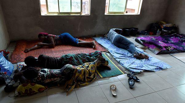 Lassa ateşi tespit edilen Nijeryalı hastalar