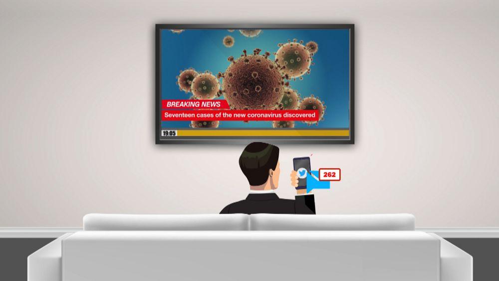 ¿El nuevo coronavirus 'infodemic' se está propagando más rápido que el virus? 38