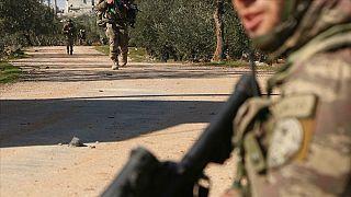 Gaziantep Valiliği: İdlib'de bir asker şehit oldu