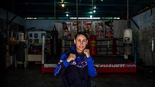 """Frauen boxen in Venezuela: """"Wir werden Schranken durchbrechen"""""""