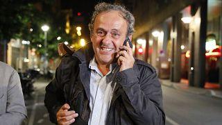 APTOPIX France Platini Arrested
