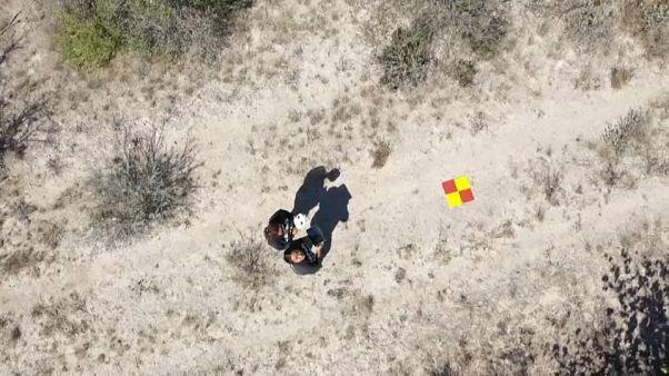 Se convierte en una experta en drones y cartografía para buscar a su hijo desaparecido en México