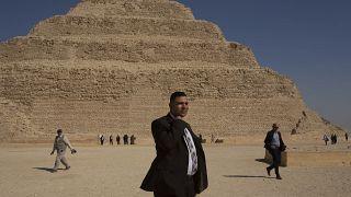 شاهد: إعادة فتح أقدم هرم في مصر بعد ترميمه