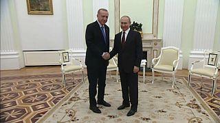 Putin e Erdogan acordam cessar-fogo para a Síria