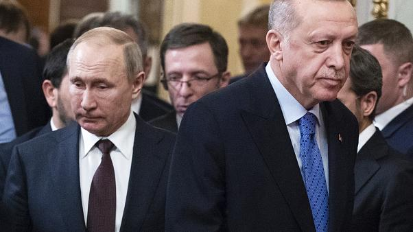 Russia Turkey Syria Summit