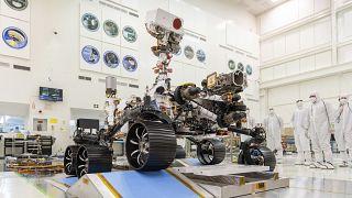 Mars 2020 keşif aracı