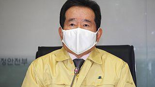 رئيس الوزراء الكوري الجنوبي تشونغ سي كيون